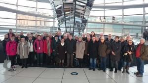 Besuchergruppe aus Zwickau im Bundestag